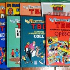 Comics : LOS ARCHIVOS DE TBO. EDICIONES B. COLECCIÓN COMPLETA. 8 VOLÚMENES.. Lote 221357348