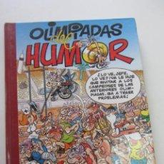Cómics: SUPER HUMOR Nº 2 MORTADELO OLIMPIADAS DEL HUMOR EDICIONES B. Lote 221496148