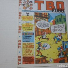 Cómics: TBO 2000 - Nº 2127 - ¡EL OESTE EN VIVO!. Lote 221507405