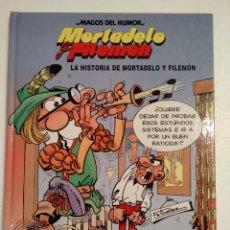 Cómics: MAGOS DEL HUMOR LA HISTORIA DE MORTADELO Y FILEMON. Lote 221511847