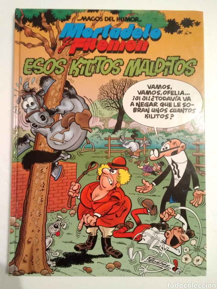 MAGOS DEL HUMOR ESOS KILITOS MALDITOS (Tebeos y Comics - Ediciones B - Humor)