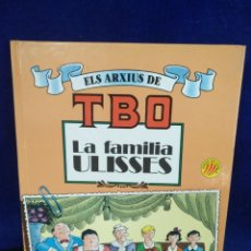 Cómics: ELS ARXIUS DE TBO LA FAMILIA ULISES, N° 1, EDICIONES B, CATALÁN. Lote 221574560