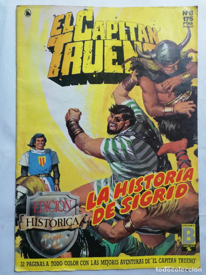 EL CAPITAN TRUENO, EDICION HISTORICA, Nº 8 (Tebeos y Comics - Ediciones B - Clásicos Españoles)