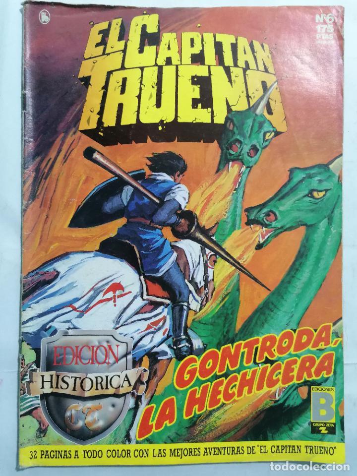 EL CAPITAN TRUENO, EDICION HISTORICA, Nº 6 (Tebeos y Comics - Ediciones B - Clásicos Españoles)
