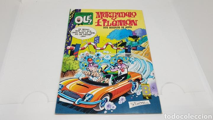 MORTADELO Y FILEMON COLECCION OLE NUMERO162 EDICIONES B PRIMERA EDICION 1988 (Tebeos y Comics - Ediciones B - Humor)