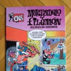 Cómics: COLECCIÓN OLÉ MORTADELO Y FILEMÓN Nº 12 - 1ª EDICIÓN MARZO 1993 - D6 - EXCELENTE. Lote 221663108