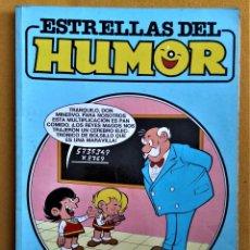 Cómics: ESTRELLAS DEL HUMOR Nº 30 - MORTADELO Y FILEMON, ZIPI Y ZAPE, SUPER LOPEZ - 4 NÚMEROS. Lote 221789356