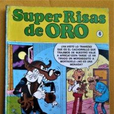 Cómics: SUPER RISAS DE ORO Nº 6 - EDICIONES B - TOMO RETAPADO CON 3 NUMEROS. Lote 221790898