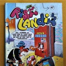 Cómics: RISA LANDIA Nº 47 - TOMO RETAPADO CON 3 NUMEROS - EDICIONES B. Lote 221793056