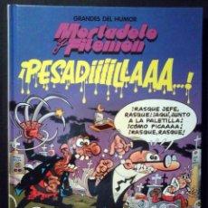 Cómics: GRANDES DEL HUMOR Nº 2 - MORTADELO Y FILEMÓN ¡PESADILLAAA! - IMPECABLE. Lote 221848791