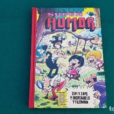 Cómics: LIBRO SUPER HUMOR VOLUMEN 20 (1987) MORTADELO, ZIPI ZAPE. Lote 221874302
