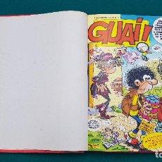 Cómics: GUAI! (1987) 10 NUMEROS ENCUADERNADOS - Nº 61 AL 70. Lote 221894917