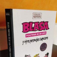 Cómics: *NUEVO* BLASA PORTERA DE SU CASA Y OTROS PERSONAJES CHAPUCEROS CLASICOS HUMOR RBA. Lote 221922748