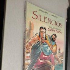 Cómics: SILENCIOS, LA JUVENTUD DEL CAPITÁN TRUENO / ALFONSO LÓPEZ - PEPE GÁLVEZ / EDICIONES B 1ª EDIC. 2006. Lote 221935430