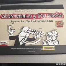 Cómics: MORTADELO Y FILEMÓN / EDICIÓN COLECCIONISTA 50 ANIVERSARIO / F. IBÁÑEZ / EDICIONES B. Lote 221945035