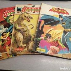 Cómics: BATMAN LIBRO CÓMIC / LOTE DE 3 NÚMEROS: I, III, XII / NOVARO. Lote 221948286
