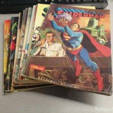 Cómics: SUPERMAN LIBRO CÓMIC / LOTE DE 10 NÚMEROS / NOVARO. Lote 221948981
