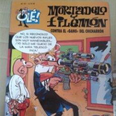Cómics: MORTADELO Y FILEMÓN. CONTRA EL GANG DEL CHICHARRON. OLÉ Nº 97. EDICIONES B. Lote 221986921