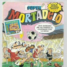 Cómics: SUPER MORTADELO 156, 1983, BRUGUERA, MUY BUEN ESTADO. CONTIENE CROMOS Y POSTER. Lote 222007375