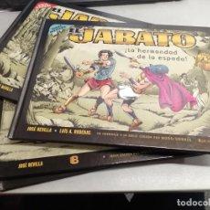 Cómics: EL JABATO - NUEVAS AVENTURAS / COMPLETO 4 TOMOS / JOSÉ REVILLA - LUÍS A. RODENAS / EDICIONES B. Lote 222012120