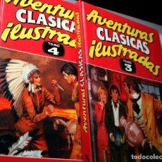 Cómics: AVENTURAS CLASICAS ILUSTRADAS TOMOS Nº 03 Y Nº 04 (DE 5). Lote 222032831