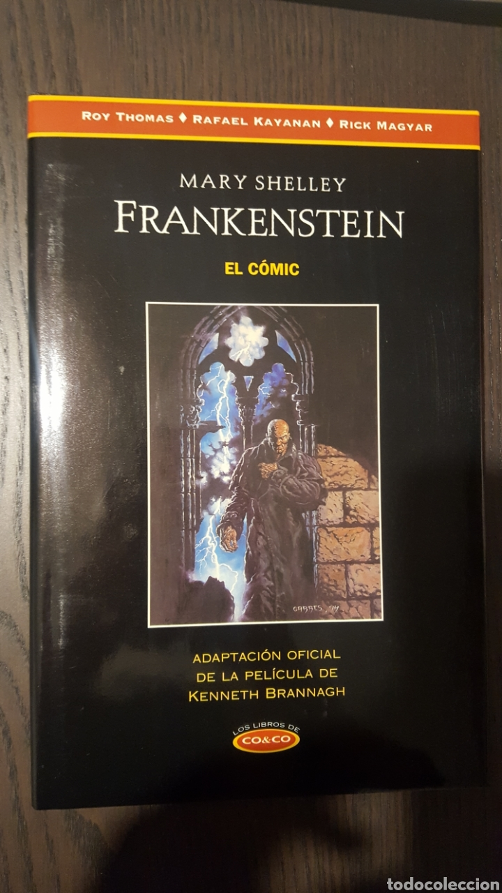 COMIC - FRANKENSTEIN EL COMIC - LOS LIBROS DE CO & CO - 1ª EDICION TAPA DURA CON SOBRECUBIERTA (Tebeos y Comics - Ediciones B - Otros)