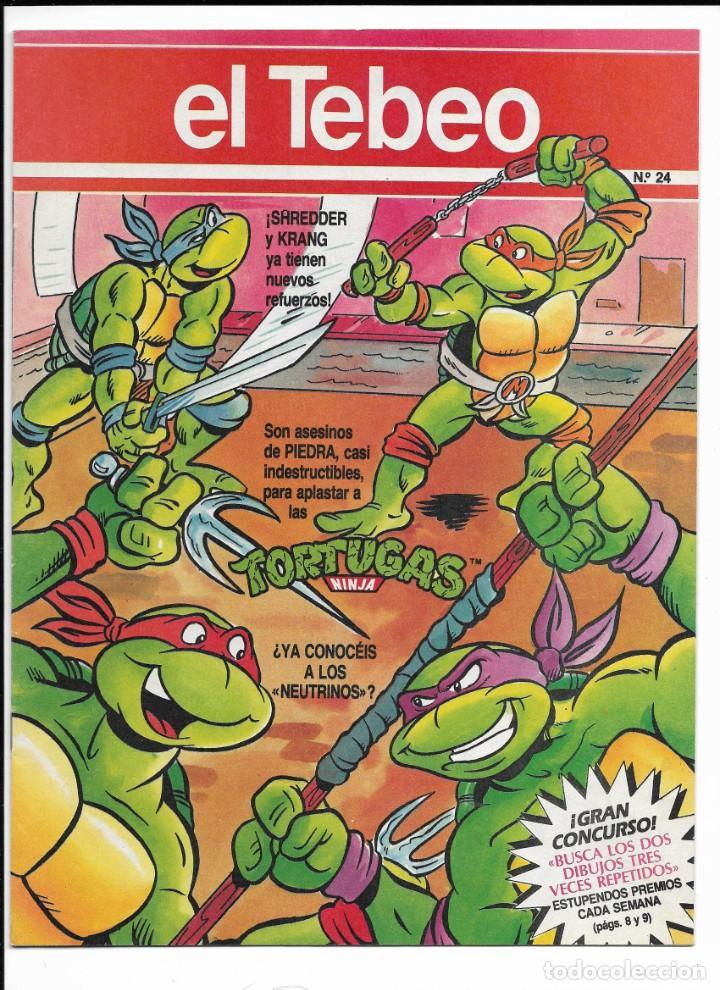 LOTE DE 13 EJEMPLARES DE EL TEBEO (EDITADO POR EDICIONES B) (Tebeos y Comics - Ediciones B - Clásicos Españoles)