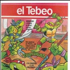 Cómics: LOTE DE 13 EJEMPLARES DE EL TEBEO (EDITADO POR EDICIONES B). Lote 222113226