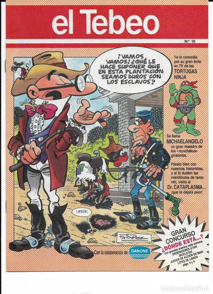Cómics: Lote de 13 ejemplares de el Tebeo (editado por ediciones B) - Foto 2 - 222113226