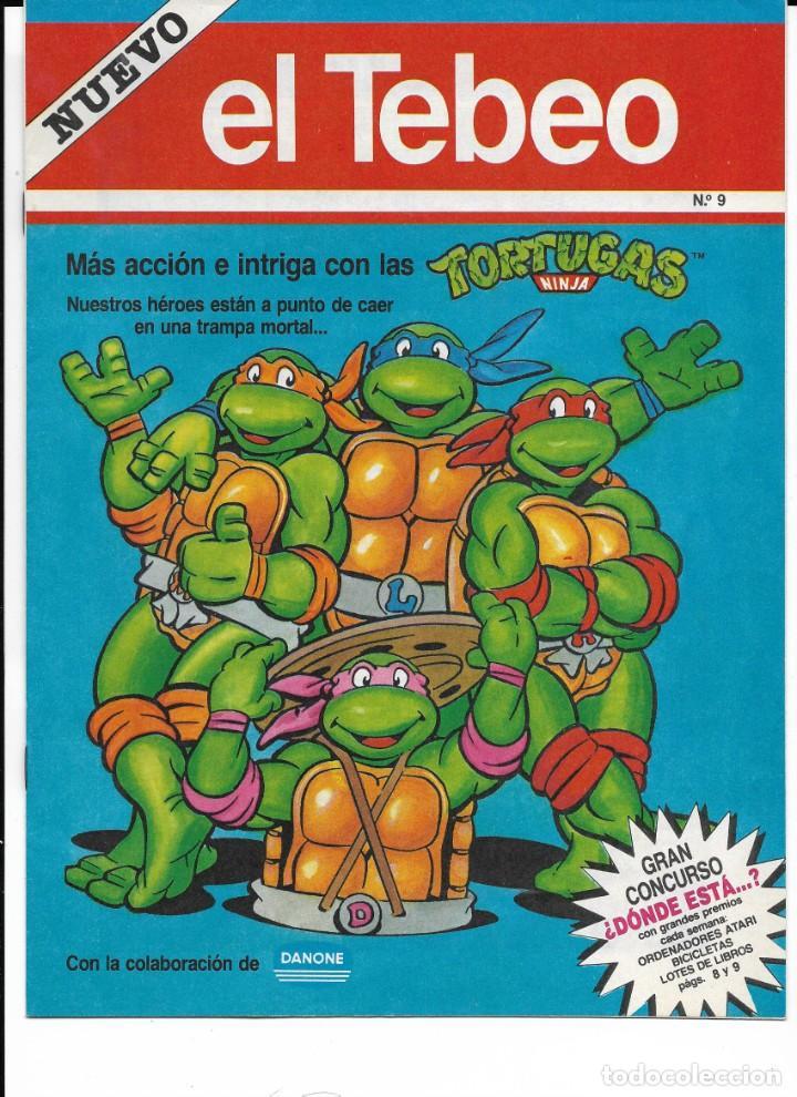 Cómics: Lote de 13 ejemplares de el Tebeo (editado por ediciones B) - Foto 4 - 222113226