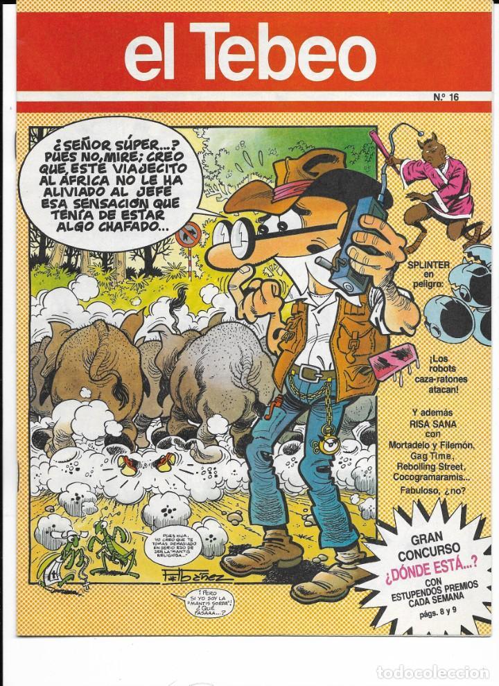 Cómics: Lote de 13 ejemplares de el Tebeo (editado por ediciones B) - Foto 5 - 222113226