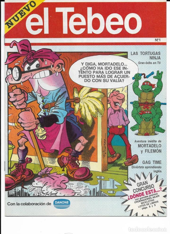 Cómics: Lote de 13 ejemplares de el Tebeo (editado por ediciones B) - Foto 6 - 222113226