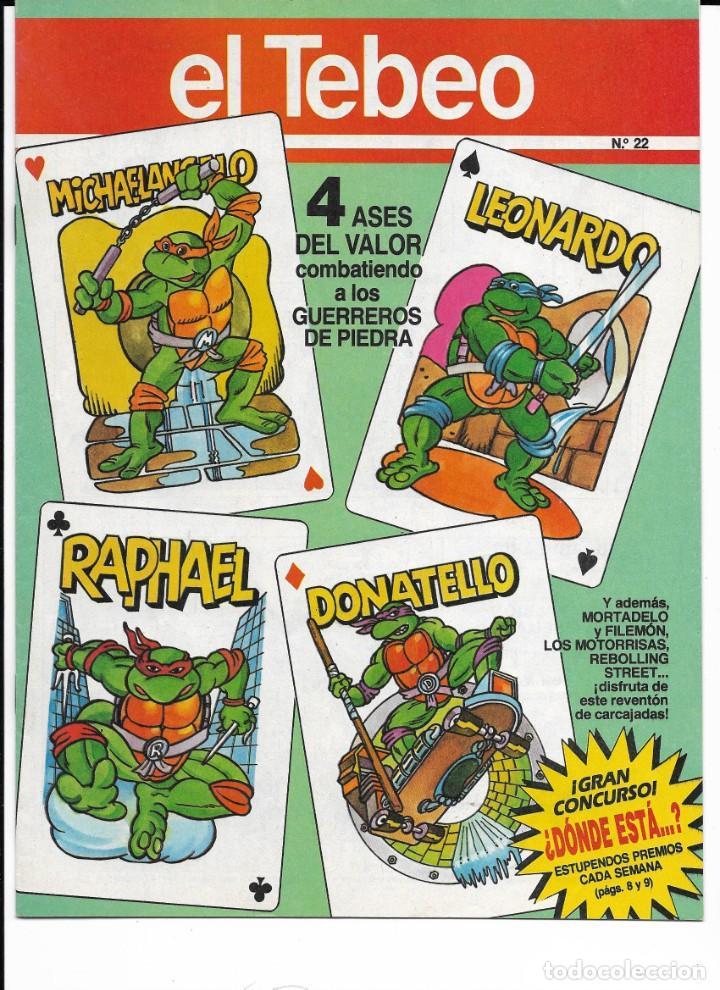 Cómics: Lote de 13 ejemplares de el Tebeo (editado por ediciones B) - Foto 7 - 222113226