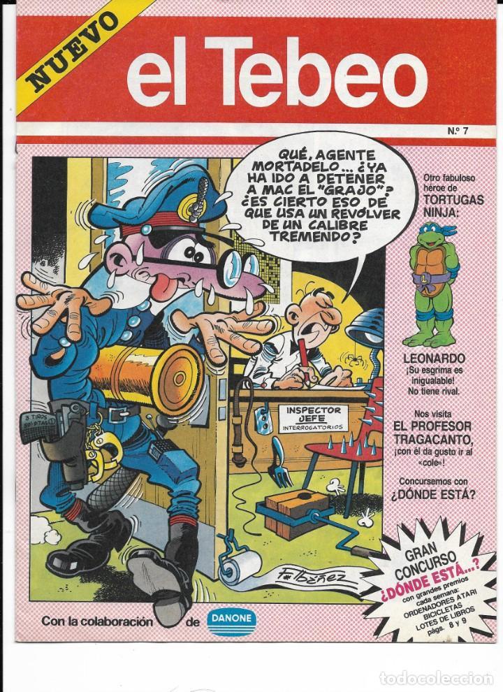 Cómics: Lote de 13 ejemplares de el Tebeo (editado por ediciones B) - Foto 10 - 222113226