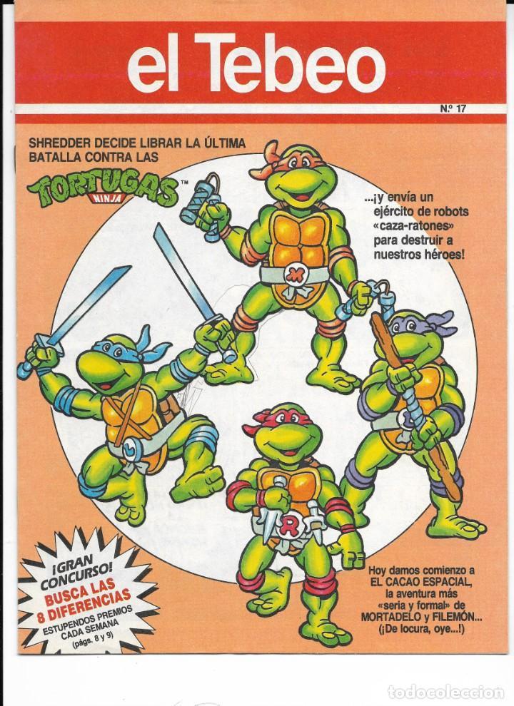 Cómics: Lote de 13 ejemplares de el Tebeo (editado por ediciones B) - Foto 11 - 222113226