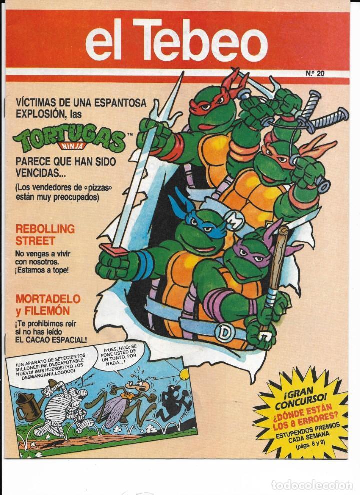 Cómics: Lote de 13 ejemplares de el Tebeo (editado por ediciones B) - Foto 12 - 222113226