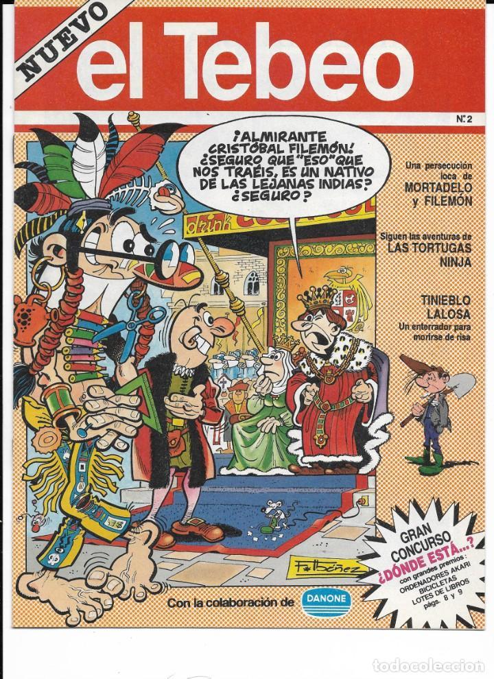 Cómics: Lote de 13 ejemplares de el Tebeo (editado por ediciones B) - Foto 13 - 222113226