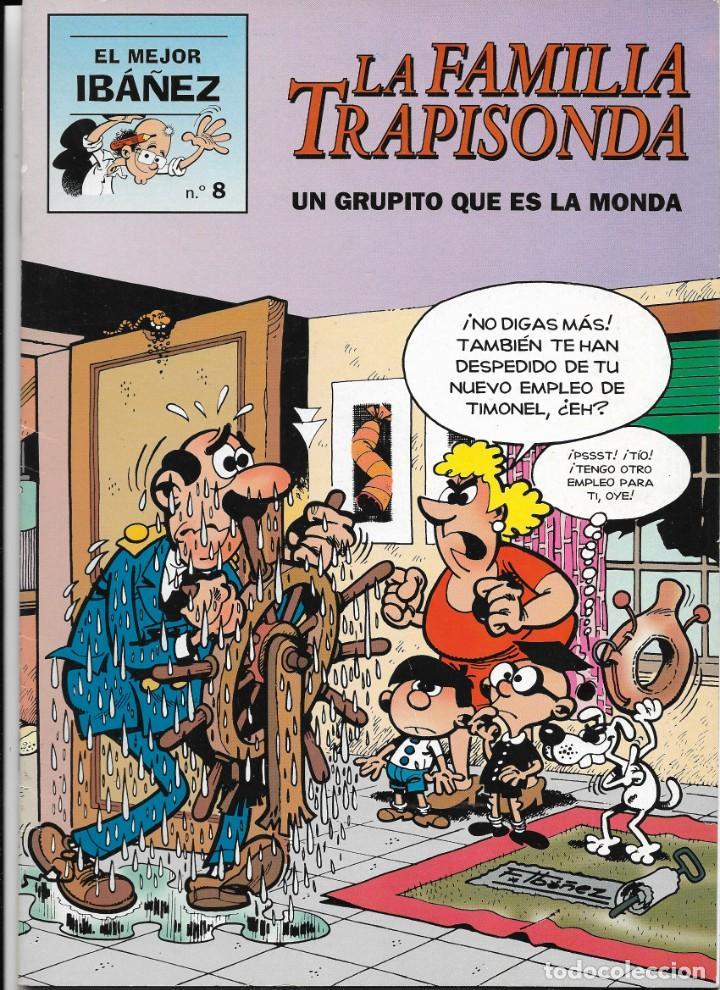 """LOTE DE 7 EJEMPLARES DE """"EL MEJOR IBAÑEZ"""" DE EDICIONES B (Tebeos y Comics - Ediciones B - Humor)"""