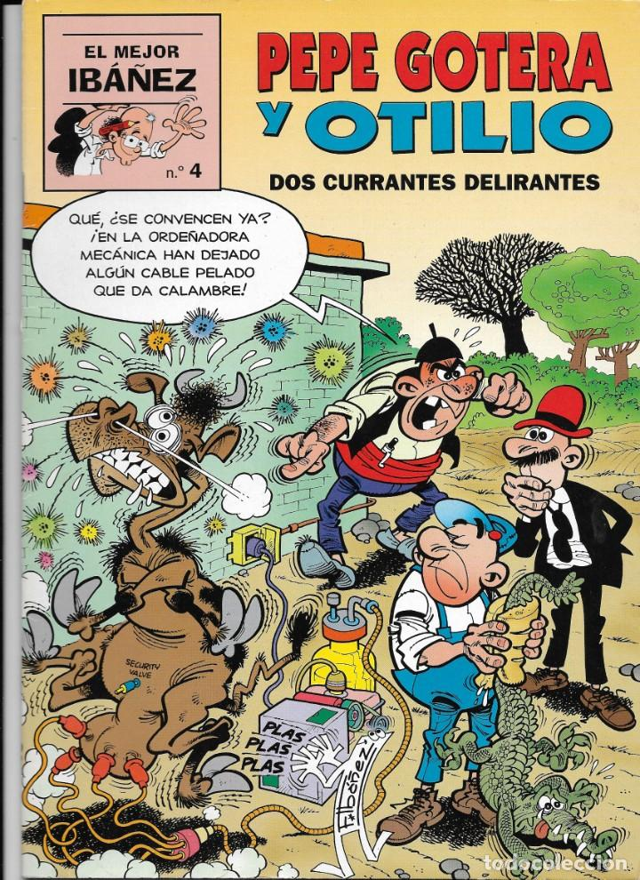 """Cómics: Lote de 7 ejemplares de """"El mejor Ibañez"""" de Ediciones B - Foto 2 - 222114542"""