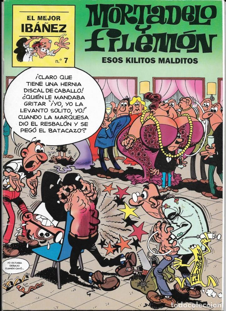 """Cómics: Lote de 7 ejemplares de """"El mejor Ibañez"""" de Ediciones B - Foto 3 - 222114542"""