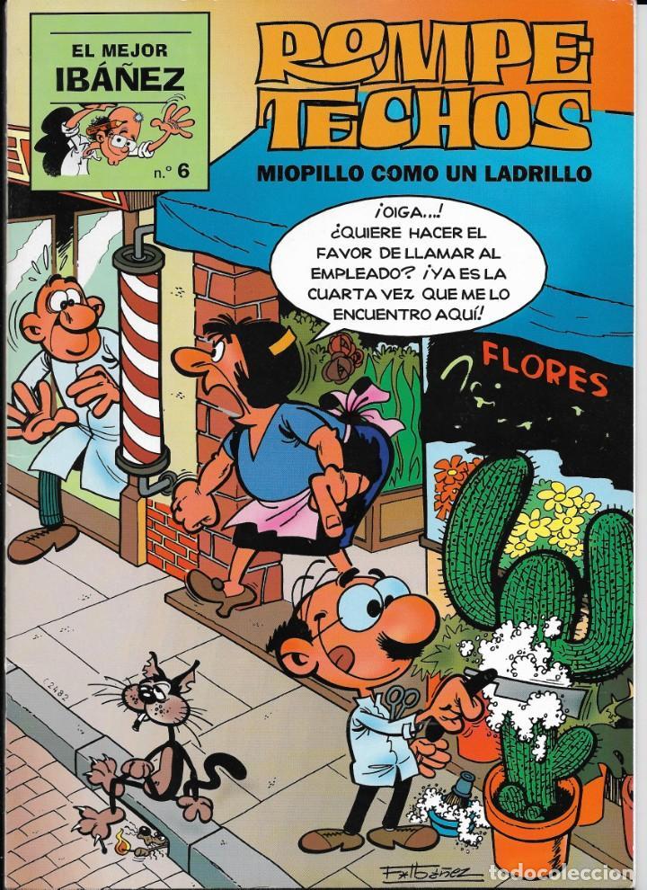 """Cómics: Lote de 7 ejemplares de """"El mejor Ibañez"""" de Ediciones B - Foto 5 - 222114542"""