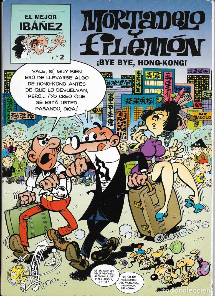 """Cómics: Lote de 7 ejemplares de """"El mejor Ibañez"""" de Ediciones B - Foto 7 - 222114542"""