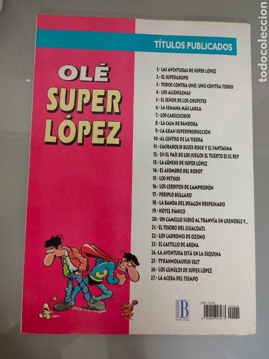 Cómics: SUPERLOPEZ OLE TROQUELADO 29 LOS GEMELOS 1996 1° EDIC. DIFÍCIL - Foto 2 - 222126466