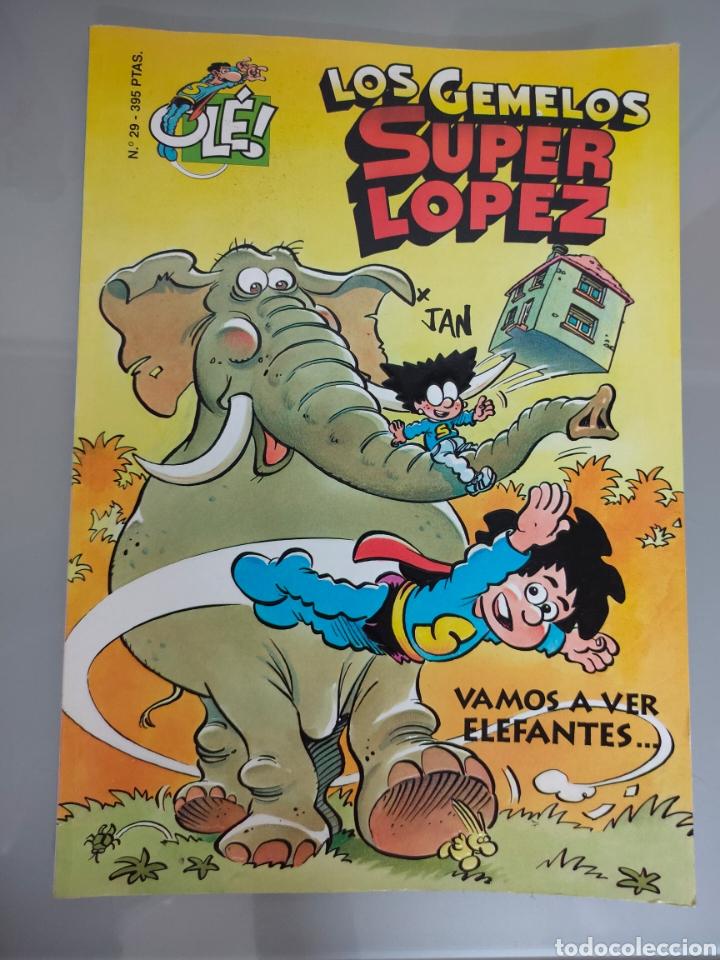 SUPERLOPEZ OLE TROQUELADO 29 LOS GEMELOS 1996 1° EDIC. DIFÍCIL (Tebeos y Comics - Ediciones B - Humor)