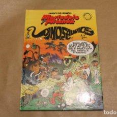 Cómics: MAGOS DEL HUMOR , DINOSAURIOS, CON MORTADELO Y FILEMÓN, EDICIONES B. Lote 222143471
