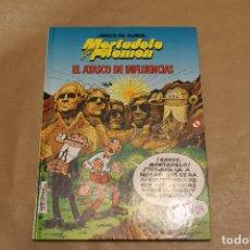 Cómics: MAGOS DEL HUMOR , EL ATASCO DE INFLUENCIAS, CON MORTADELO Y FILEMÓN, EDICIONES B. Lote 222143577
