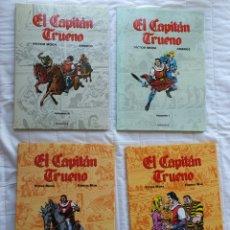 Cómics: EL CAPITÁN TRUENO , MORA , MAN Y AMBROS , CASI COMPLETA. Lote 222217538
