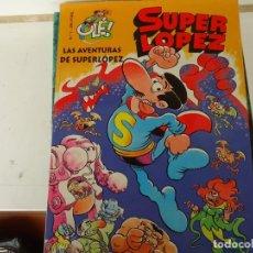Cómics: SUPER LOPEZ Nº 1,COLECCION OLE, LAS AVENTURAS DE SUPER LOPEZ. Lote 222240601