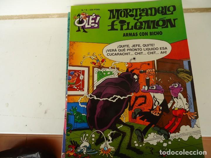 MORTADELO Y FILEMON Nº 6 ARMAS CON BICHO (Tebeos y Comics - Ediciones B - Otros)