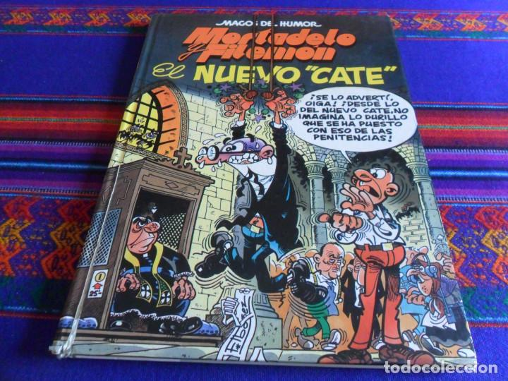 Cómics: MAGOS DEL HUMOR 112 MORTADELO CON CAPITÁN TRUENO. ED. B 1ª ED 2006. REGALO Nº 50 EL NUEVO CATE. - Foto 2 - 22079600